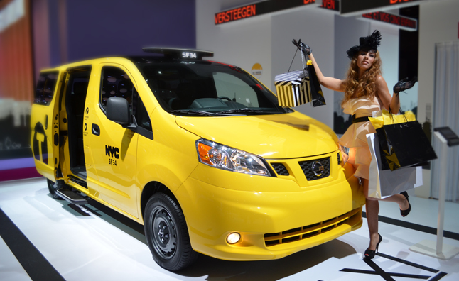 Nissan Nv200 Taxi Of Tomorrow Begins Production
