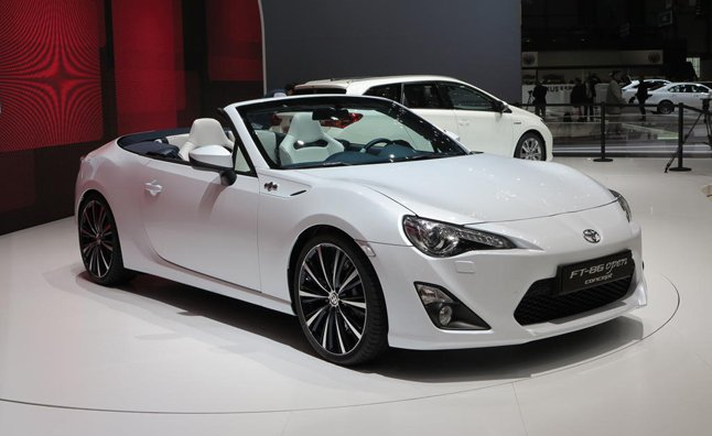 New Toyota Gt86 Convertible Concept Heading To Tokyo Motor