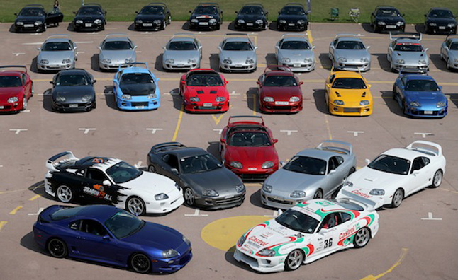 Toyota Supra Owners Celebrate 20 Years of the MkIV  AutoGuidecom