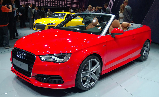 2015 audi a3 cabriolet debuts at frankfurt motor show. Black Bedroom Furniture Sets. Home Design Ideas