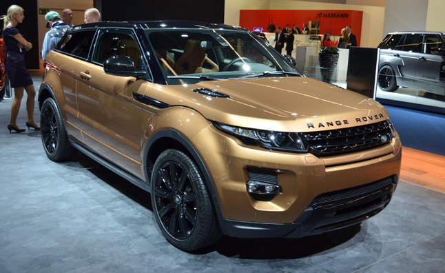 2014 range rover evoque brings its 9 speed to frankfurt. Black Bedroom Furniture Sets. Home Design Ideas