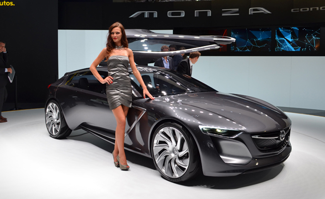 Opel Monza Concept Burns Electricity Natural Gas Autoguide News