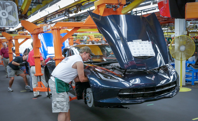 National Corvette Museum >> Bowling Green Corvette Assembly Plant Tours Resume ...