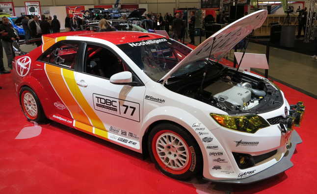 Opened Its Doors Yet But We Ve Managed To Grab Some Photos Of The Toyota Dream Build Challenge Project Vehicles Including Wild Camrally Race Car