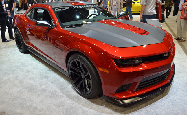 Custom Camaros Promote Chevrolet Performance Parts
