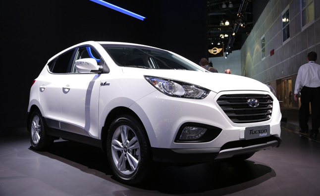 hyundai tucson fuel cell lease to cost 499 a month. Black Bedroom Furniture Sets. Home Design Ideas