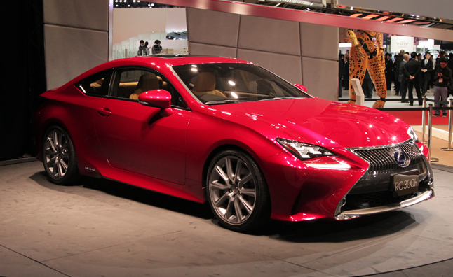 Lexus Rc Coupe Revealed With V6 And Hybrid Power