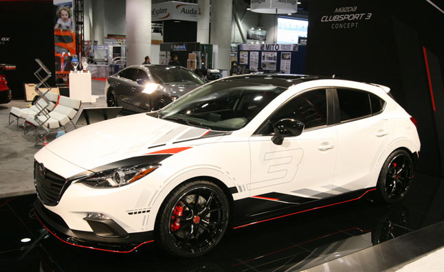 2014 Mazda Clubsport Concepts Video 2013 Sema Show