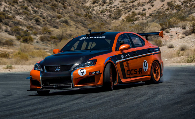 Lexus IS-F CCS-R to Race in 2013 25 Hours of Thunderhill » AutoGuide