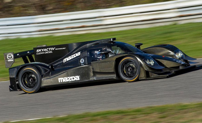 Mazda Motorsports Will Be Campaigning SkyActiv D Smart Diesel Powered  Racecars In The Top Prototype Class For The 2014 TUDOR United SportsCar  Championship ...