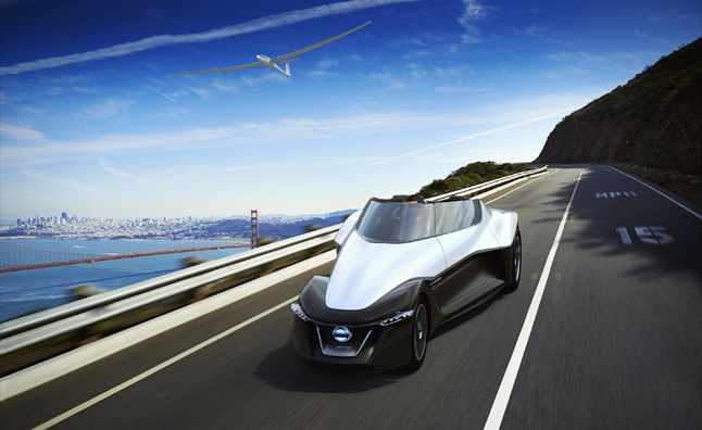 Nissan Bladeglider Previews The Future Of Electric Sports Cars