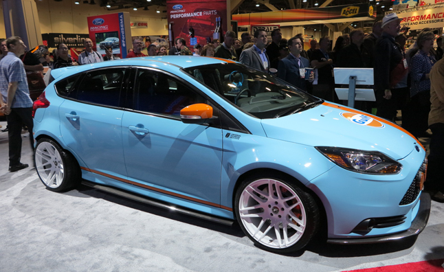 Ford Focus ST SEMA Show Cars Celebrate Racing Not Street