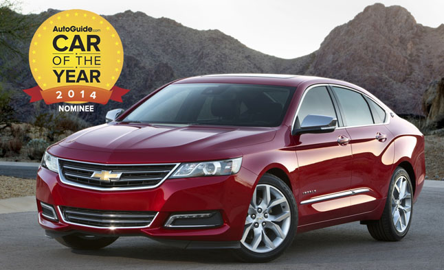 2014 car of the year finalist no 3 2014 chevrolet impala news. Black Bedroom Furniture Sets. Home Design Ideas