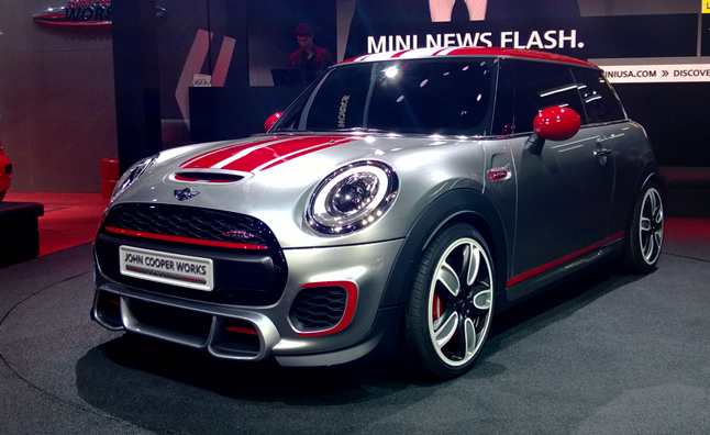 Mini John Cooper Works Concept Defines Pint Sized Performance