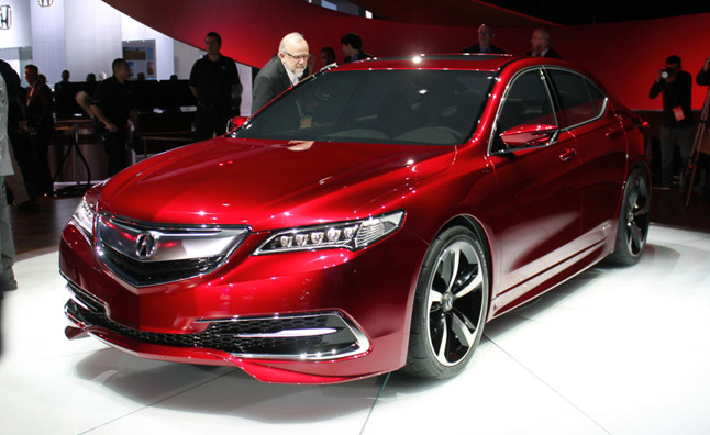 2015 acura tlx concept video first look news. Black Bedroom Furniture Sets. Home Design Ideas