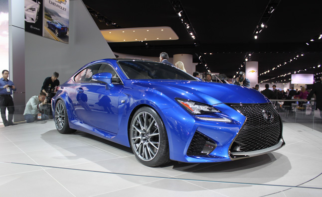 2015 Lexus Rc F Coupe Snarls With More Than 450 Hp