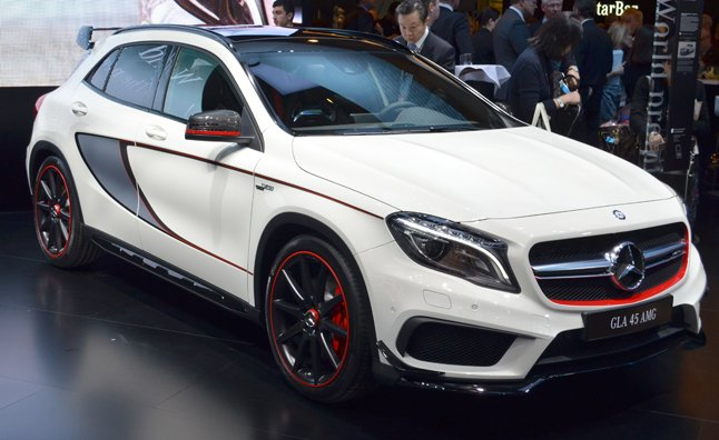 2015 Mercedes Gla45 Amg Is The Hottest Hatch Autoguide Com News