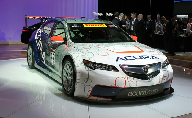 acura tlx gt race car video first look news. Black Bedroom Furniture Sets. Home Design Ideas