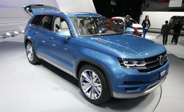 Volkswagen Ceo Martin Winterkorn Just Confirmed That The German Automaker Will Be Bringing A New Midsize Suv To North America In 2016