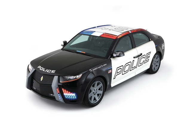 Carbon Motors Robocop Police Car Heading To Auction
