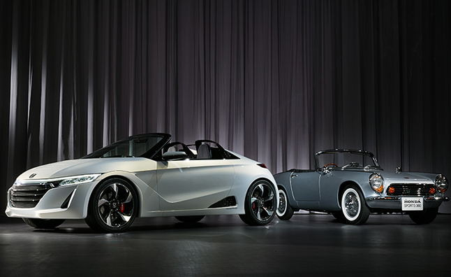 honda s660 concept pays tribute to a classic autoguide. Black Bedroom Furniture Sets. Home Design Ideas