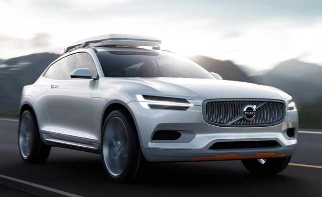 Volvo Xc Coupe Concept Officially Revealed