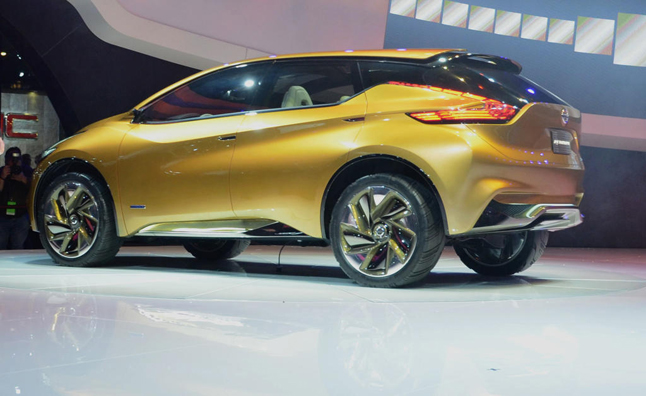 2015 Nissan Murano To Debut At New York Auto Show