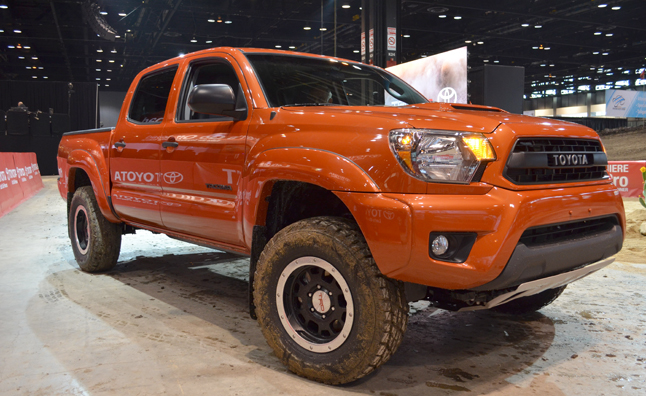 toyota trd pro debuts with trio of rugged off roaders. Black Bedroom Furniture Sets. Home Design Ideas