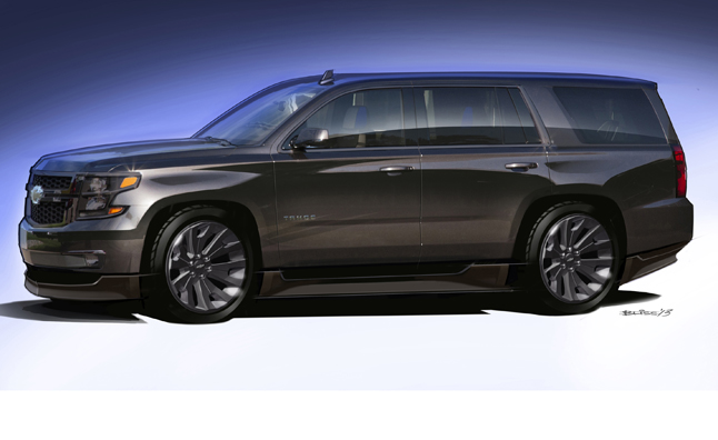 Gm Just Rolled Out Its Latest Full Size Suvs To Dealerships The 2017 Chevy Tahoe And Gmc Yukon It Looks Like A Performance Variant For Might