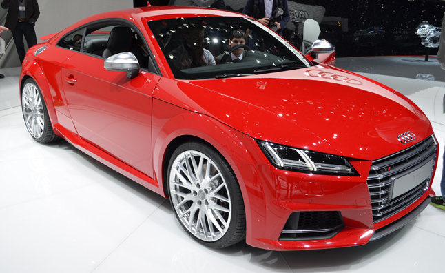 2015 audi tt tts revealed with evolutionary design. Black Bedroom Furniture Sets. Home Design Ideas