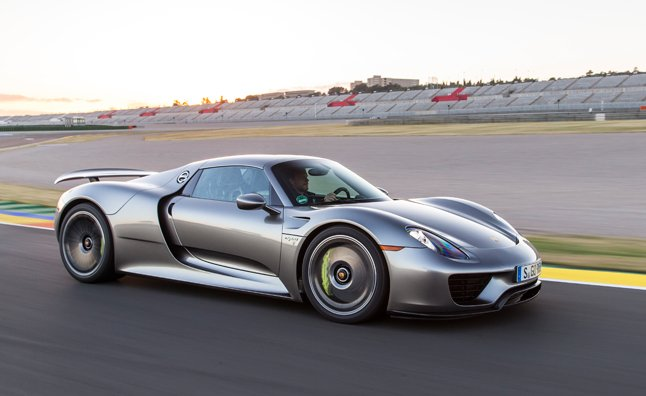 porsche 918 spyder detailed in mega gallery