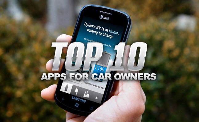 connected car apps top 10
