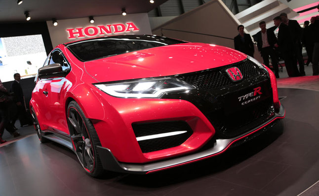 Luxury Honda Civic Type R Concept Video First Look  AutoGuide