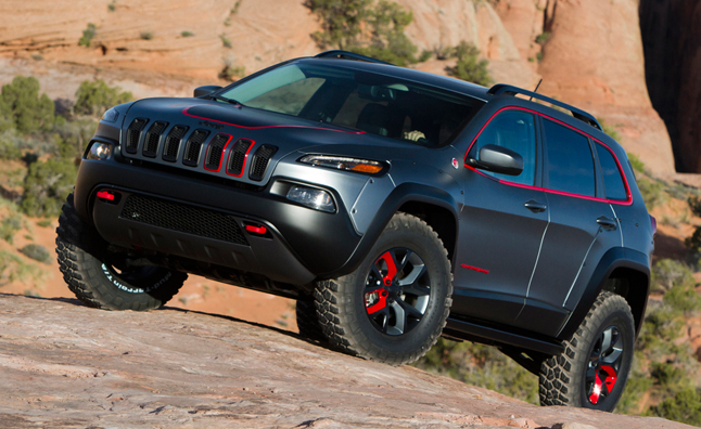 2014 Jeep Cherokee Trailhawk Lifted U003eu003e Can The 2014 Jeep Cherokee  Suspension Be Lifted?