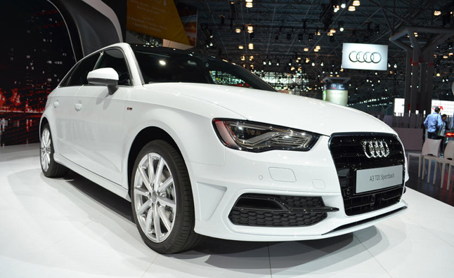 2015 audi a3 tdi sportback video first look news. Black Bedroom Furniture Sets. Home Design Ideas