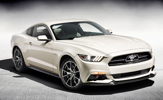 50th anniversary mustang special edition