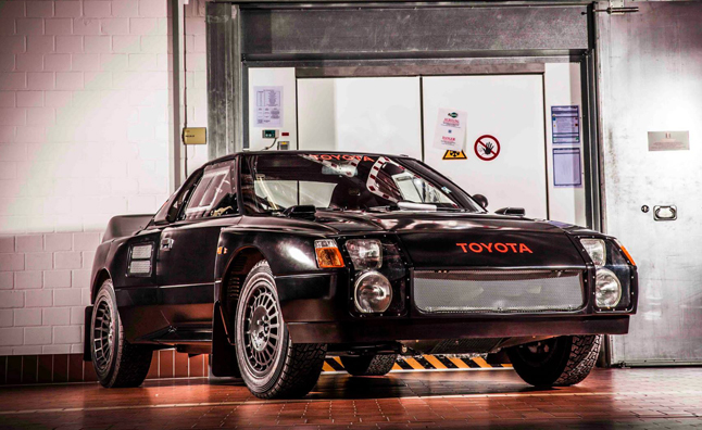toyota's 'black monster' is the mr2 rally car you never knew about