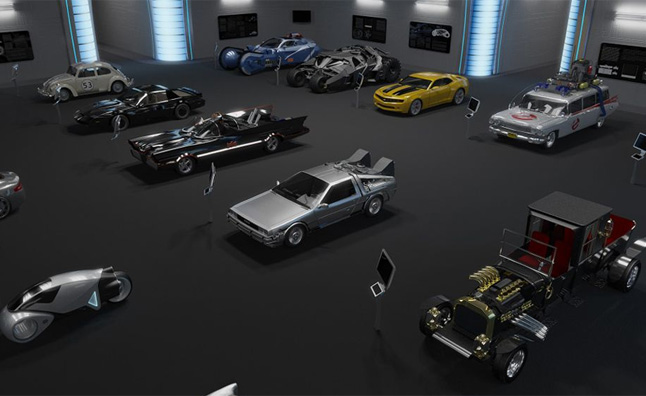 hollywood hall of cars planned for new sci fi museum