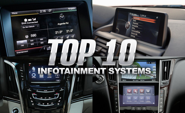 Top 10 Infotainment Systems 187 Autoguide Com News