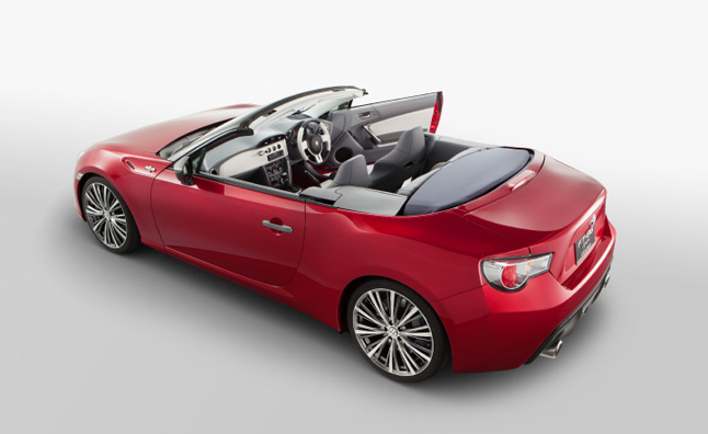 toyota gt 86 convertible back on the table news. Black Bedroom Furniture Sets. Home Design Ideas