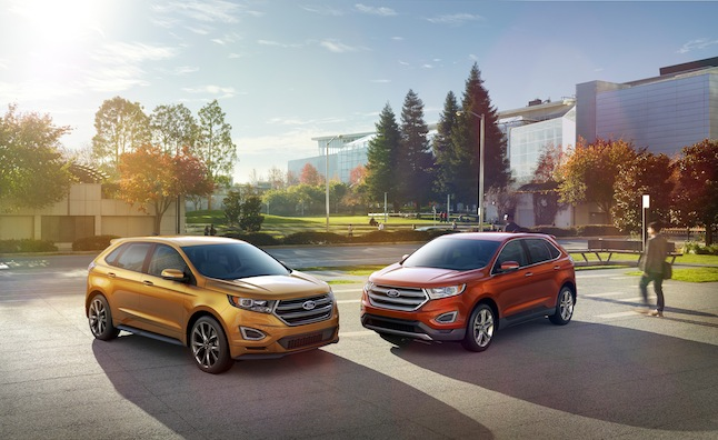Ford Revealed Their Totally Redesigned  Edge Crossover In Dearborn Michigan This Morning Featuring A Host Of Enhancements All Wrapped In Dramatic New