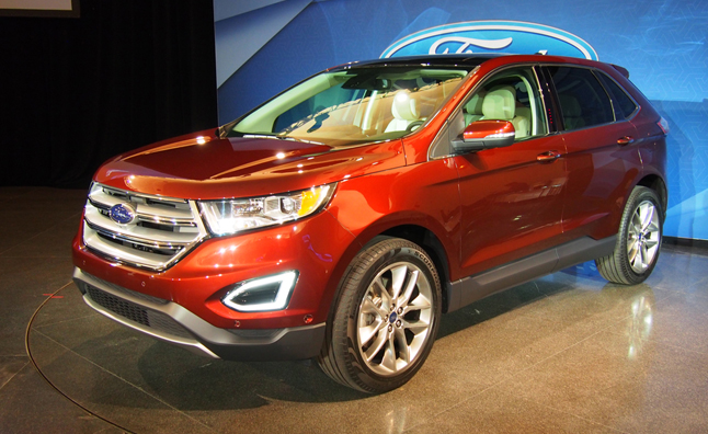 five new tech features in the 2015 ford edge news. Black Bedroom Furniture Sets. Home Design Ideas