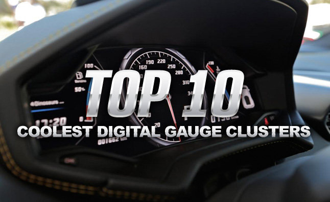 Top 10 Coolest Digital Gauge Clusters 187 Autoguide Com News