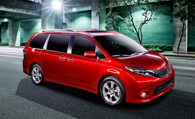 2015 Toyota Sienna Makes Scolding Unruly Kids Easier » AutoGuide.com ...