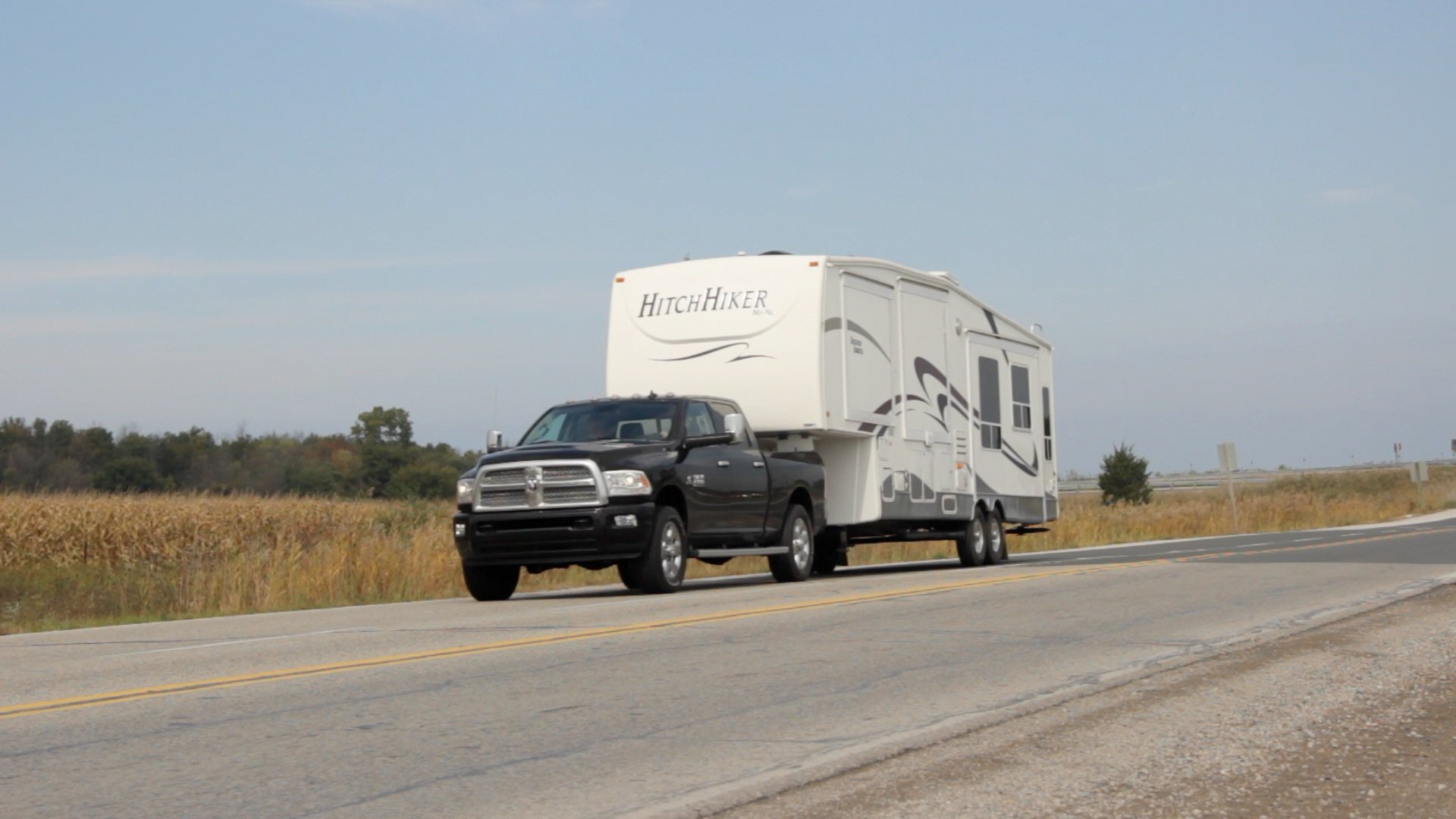 Ram 5500 Flatbed >> What to Know Before You Tow a Fifth-Wheel Trailer » AutoGuide.com News