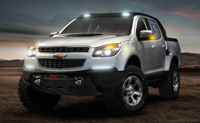 Gm Midsize Trucks Might Get Raptor Fighting Off Road Variant Autoguide News