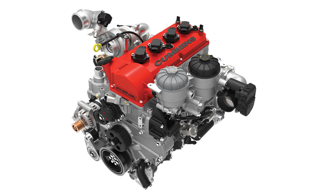 Cummins Ethos E85 Turbo Four Cylinder Engine Unveiled