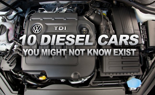 10 Diesel Cars You Might Not Know Exist » AutoGuide.com News