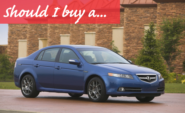 Should I Buy A Used Acura TL AutoGuidecom News - Are acura tl good cars