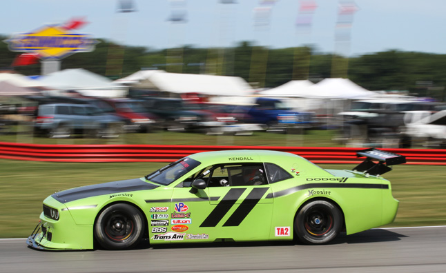 Srt challenger trans am hits mid ohio in new photos for Am motors used cars